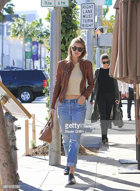 Gigi Hadid is seen on November 16 2015 in Los Angeles California
