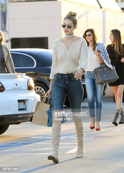Gigi Hadid is seen on November 17 2015 in Los Angeles California