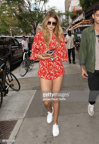 Gigi Hadid is seen on September 10 2015 in New York City