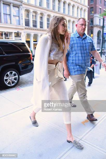 Gigi Hadid seen out in Manhattan on June 22 2017 in New York City