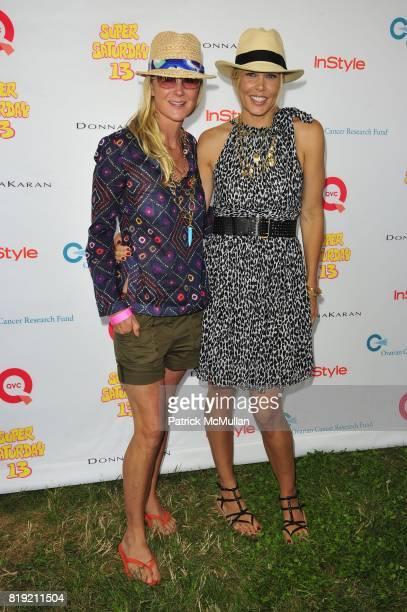 Gigi Mortimer and Mary Alice Stephenson attend Donna Karan Ariel Foxman InStyle Along With Kelly Ripa Ashley Greene Present Super Saturday 13 at...