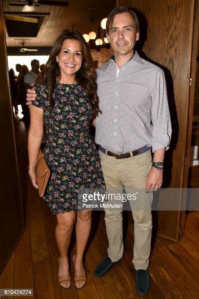 Gigi Stone and Ian Woods attend eBay Hosts July 4th Benefit for Sag Harbor Cinema Restoration Project at Lulu Kitchen and Bar on July 3 2017 in Sag...