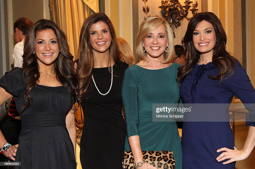 Gigi Stone, Dendy Engleman, Jamie Colby and <a gi-track='captionPersonalityLinkClicked' href=/galleries/search?phrase=Kimberly+Guilfoyle&family=editorial&specificpeople=240297 ng-click='$event.stopPropagation()'>Kimberly Guilfoyle</a> attend The New York Society For The Prevention Of Cruelty To Children's 2013 Spring Luncheon at The Pierre Hotel on April 18, 2013 in New York City.