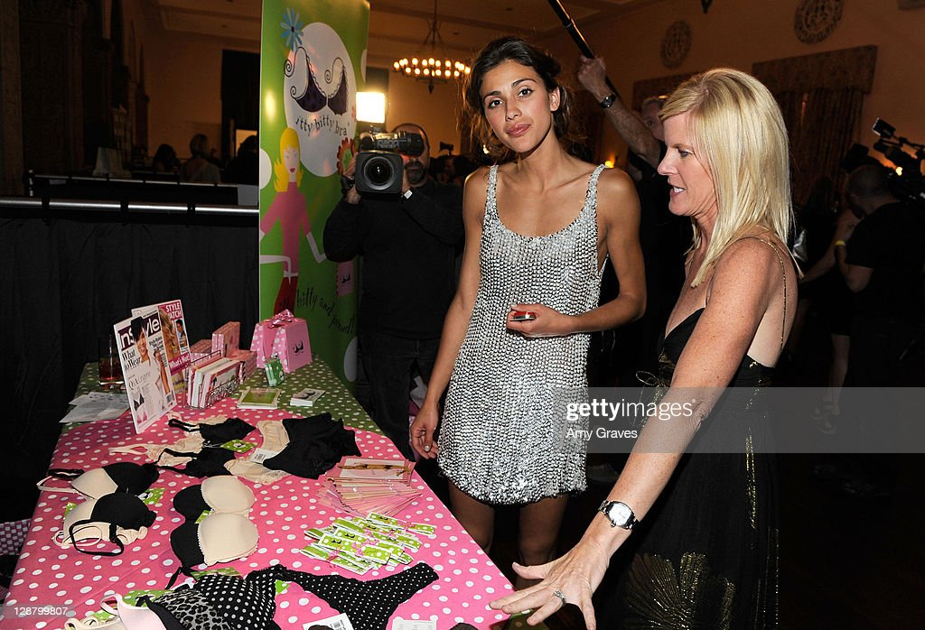 Giglianne Braga backstage during the 12th annual Young Hollywood Awards sponsored by JC Penney , Mark. & Lipton Sparkling Green Tea held at the Ebell of Los Angeles on May 13, 2010 in Los Angeles, California.