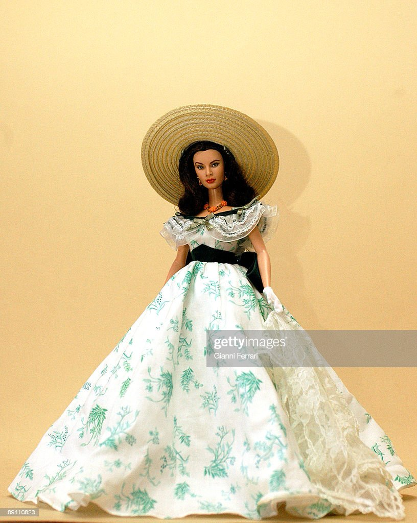 . Gijon.(Spain) Dolls with the face of actresses of all the times Vivien Leigh