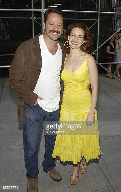 Gil Bellows and Carla Gugino