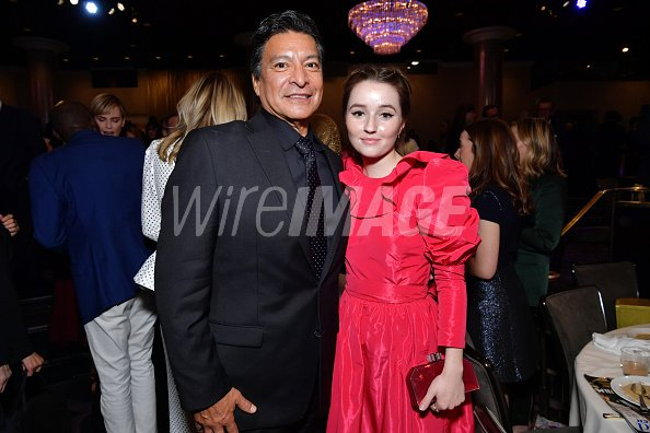 Gil Birmingham and Kaitlyn Dever...