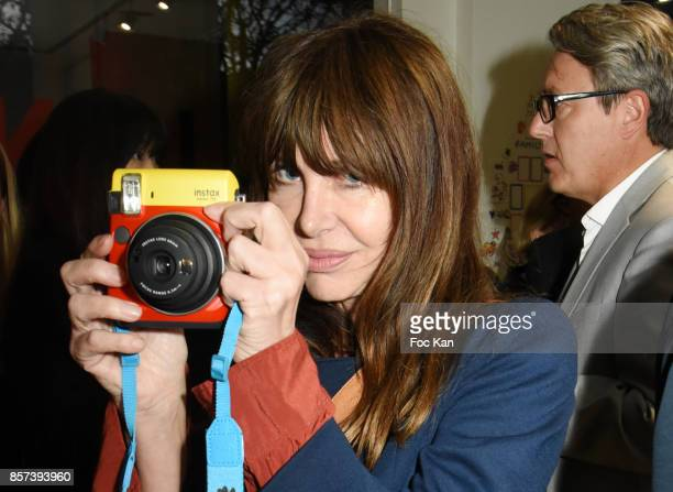 Gil Lesage from Ultra Orange band attends the 'Lignee' by jean Charles de Castelbajac Father an sons hosted by Fujifilm X Instax Launch Exhibition...