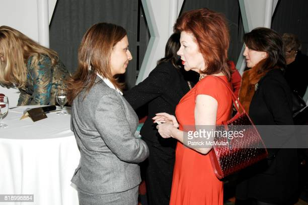 Gila GamlielDemri and Barbro Ehnbom attend MOMENTUM WOMEN Honor Gila GamlielDemri hosted by Ceslie Armstrong Phyllis Heideman Cynthia Ekberg Tsai at...