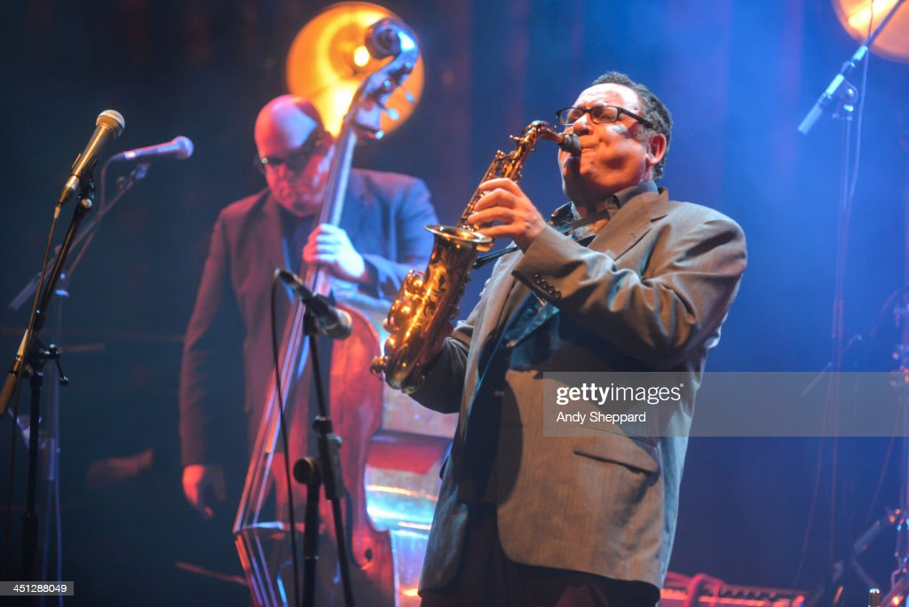 Gilad Atzmon performs on stage at Queen Elizabeth Hall during day 7 of London Jazz Festival 2013 on November 21, 2013 in London, United Kingdom.