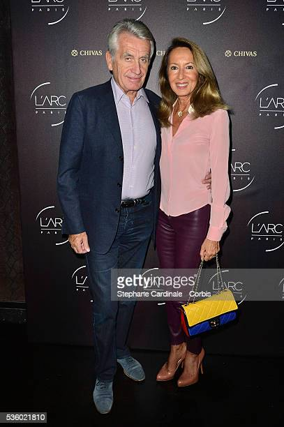 Gilbert Coullier and Nicole Coullier attend the Arc Opening Party on October 3 2014 in Paris France