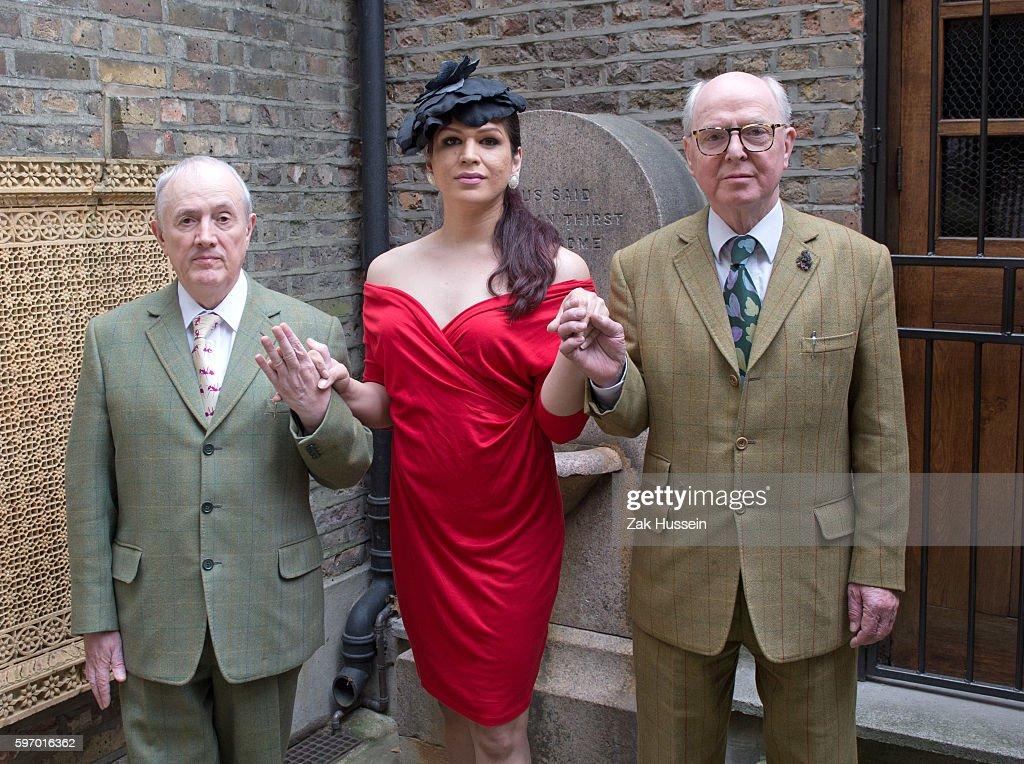 Gilbert George and Victoria appear together at their studios in London ahead of Serpentine's 10th annual festival of ideas which this year focuses on...