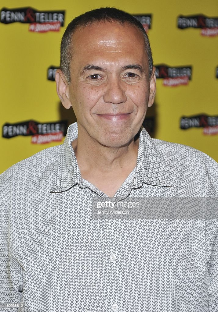 Gilbert Gottfried attends 'Penn & Teller On Broadway' at Marquis Theatre on July 12, 2015 in New York City.