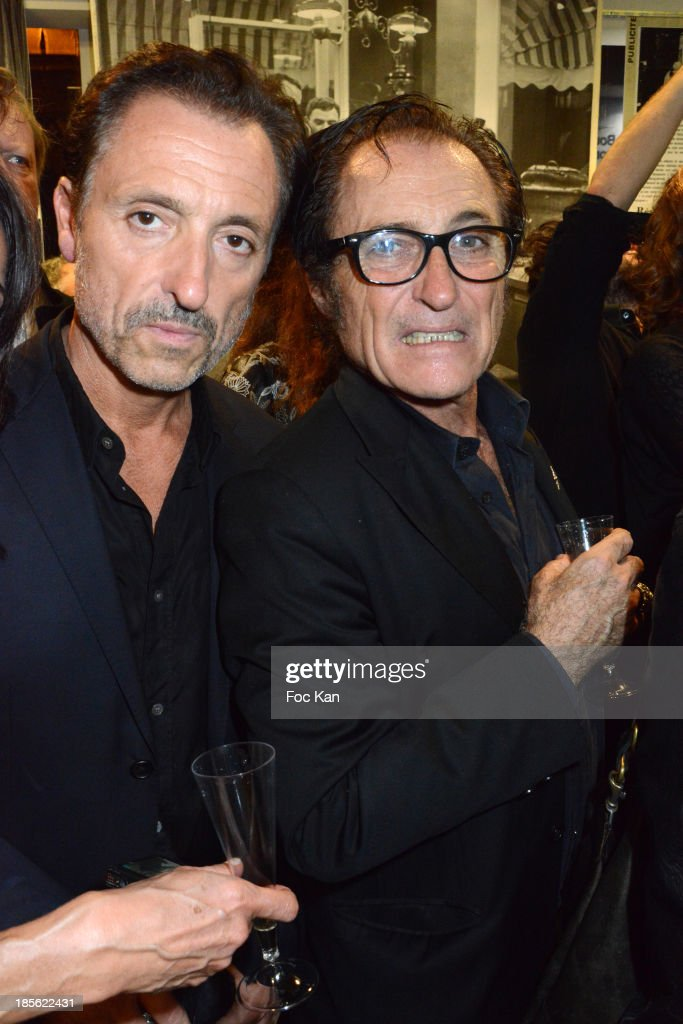 Gilbert Ros and Franck Ros from Paco Chicano attend the 'Renoma 50th Anniversary' at Renoma Store Rue de La Pompe on October 22, 2013 in Paris, France.