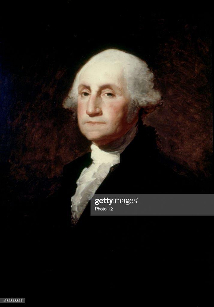 Gilbert Stuart portrait of George Washington United States Corcoran gallery of arts