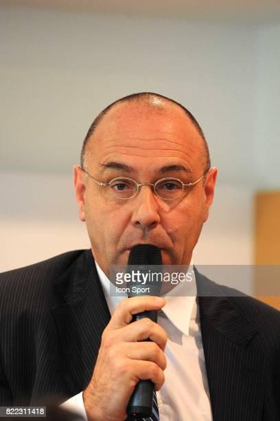 Gilbert Ysern Directeur General de la Federation Francaise de Tennis confirmation que Richard Gasquet controle positif a la cocaine fin mars ne...