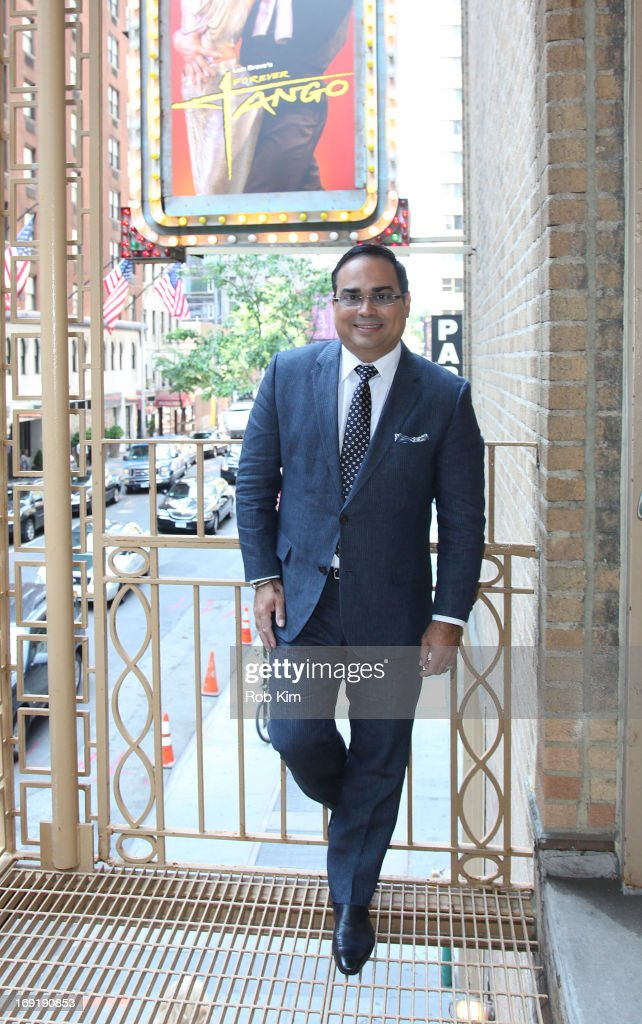 Gilberto Santa Rosa attends a 'Forever Tango' Photo Call at the Walter Kerr Theatre on May 21 2013 in New York City