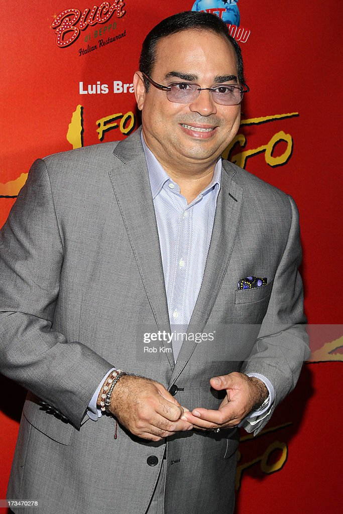 Gilberto Santa Rosa attends 'Forever Tango' Broadway Opening Night afterparty at Buca di Beppo on July 14 2013 in New York City