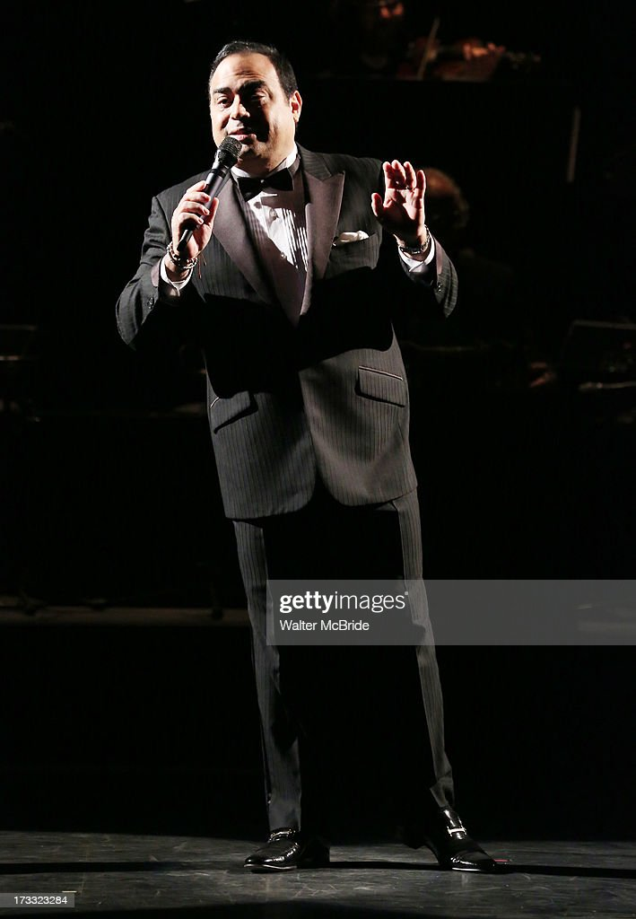 Gilberto Santa Rosa performs 'Forever Tango' Press Preview at Walter Kerr Theatre on July 11, 2013 in New York City.