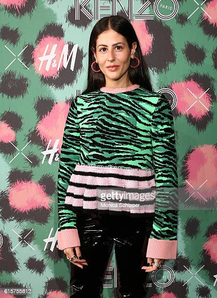 Gilda Ambrosio attends KENZO x HM Arrivals at Pier 36 on October 19 2016 in New York City