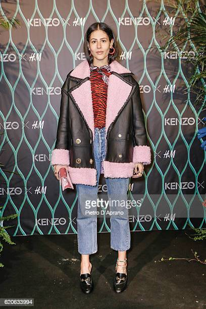 Gilda Ambrosio attends KENZO X HM Milan Launch Party on November 2 2016 in Milan Italy
