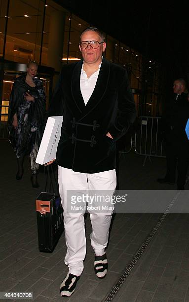 Giles Deacon attending the Elle Style Awards on February 24 2015 in London England