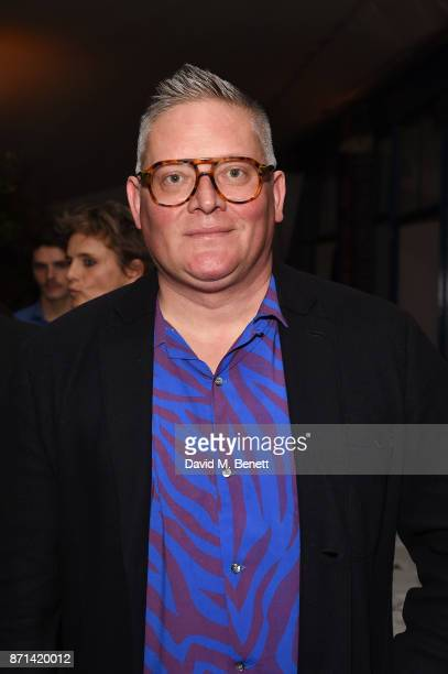 Giles Deacon attends a dinner hosted by Jonathan Newhouse and Albert Read for Edward Enninful to celebrate the December issue of British Vogue at the...