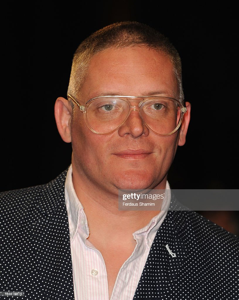 <a gi-track='captionPersonalityLinkClicked' href=/galleries/search?phrase=Giles+Deacon+-+Fashion+Designer&family=editorial&specificpeople=4321770 ng-click='$event.stopPropagation()'>Giles Deacon</a> attends a screening of 'Zero Theorem' during the 57th BFI London Film Festival at Odeon West End on October 13, 2013 in London, England.