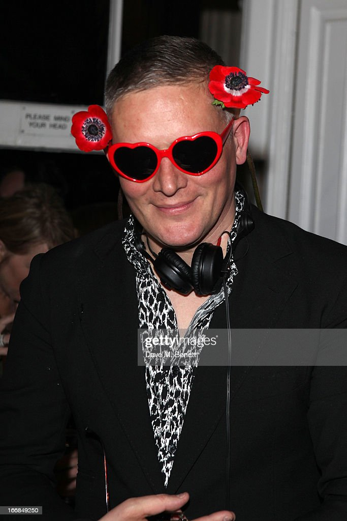 Giles Deacon attends Molton Brown and Giles Deacon launch event at the ICA on April 17, 2013 in London, England.