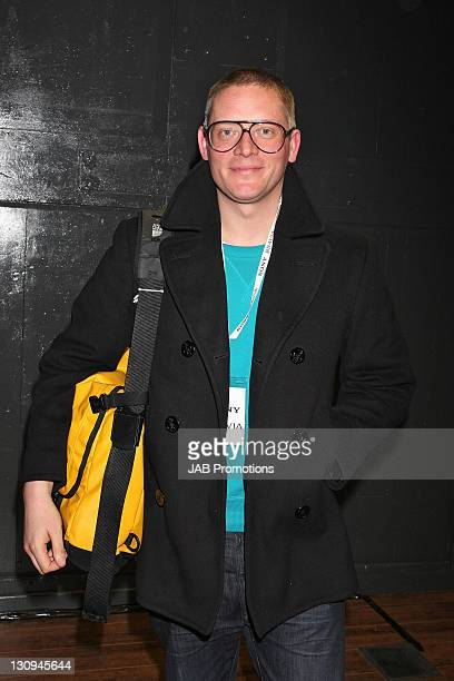 Giles Deacon attends the launch party of 'Sony BRAVIA World First' at The Tramshed on January 29 2009 in London England