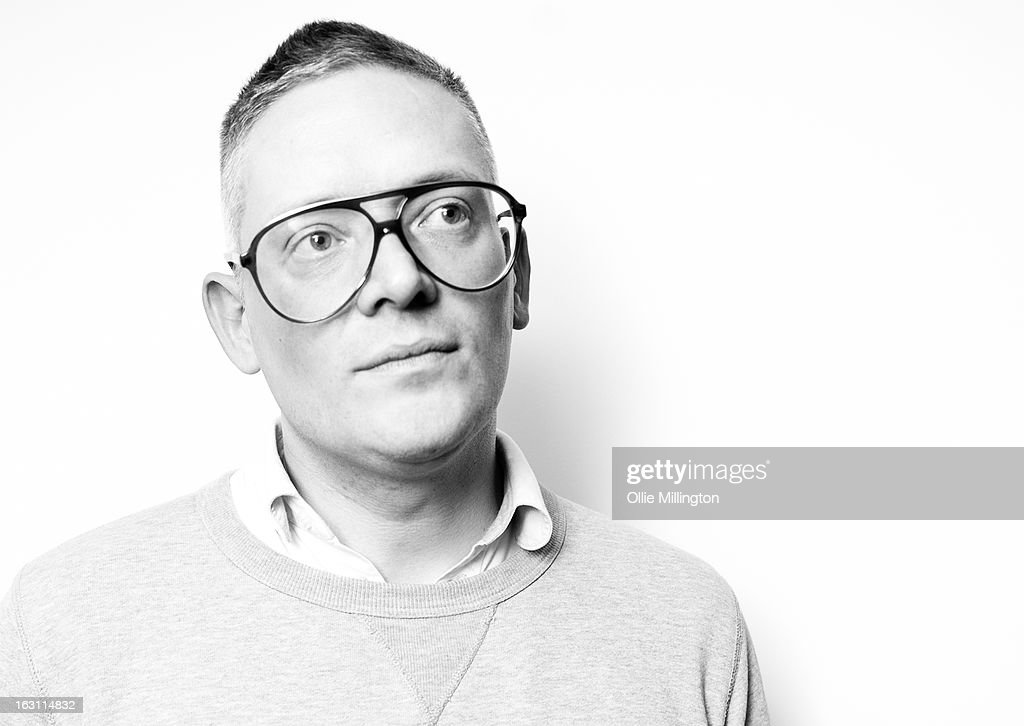 <a gi-track='captionPersonalityLinkClicked' href=/galleries/search?phrase=Giles+Deacon+-+Fashion+Designer&family=editorial&specificpeople=4321770 ng-click='$event.stopPropagation()'>Giles Deacon</a> poses at the launch of his Libertine collection for QVC at The Club at The Ivy on March 4, 2013 in London, England.