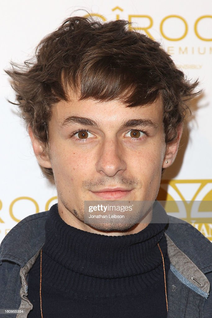 Giles Matthey attends the OK! Magazine Pre-GRAMMY Party at Sound on February 7, 2013 in Hollywood, California.