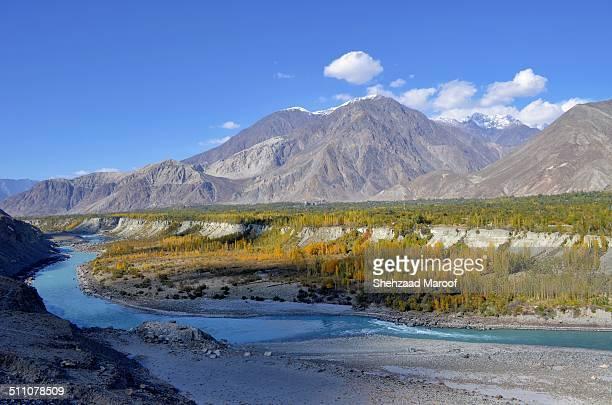Gilgit autumn