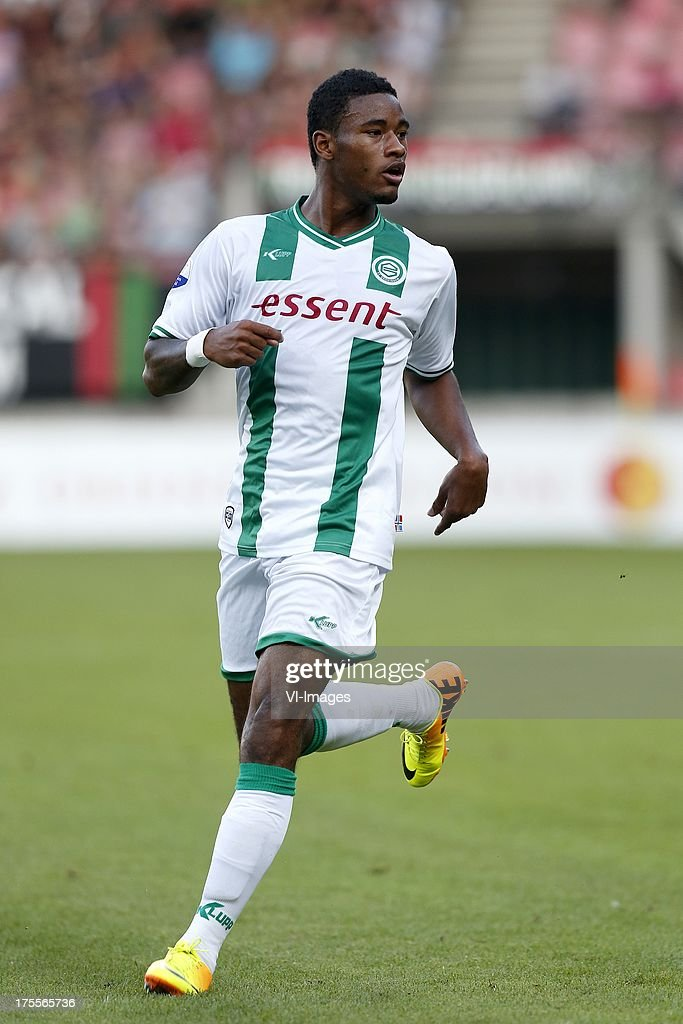 Giliano Wijnaldum of FC Groningen during the Dutch Eredivisie match between NEC Nijmegen and FC Groningen on August 3 2013 at the Goffert stadium in...