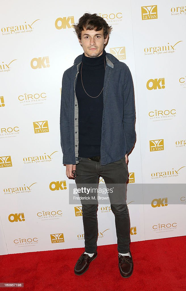 Gilies Matthey attends the OK! Magazine Pre-GRAMMY Party at the Sound Nightclub on February 7, 2013 in Hollywood, California.