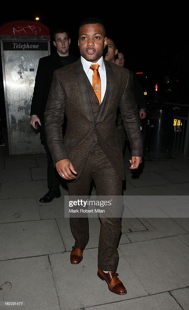 JB Gill at The Kentish Town forum for Justin Timberlakes live show on February 20, 2013 in London, England.