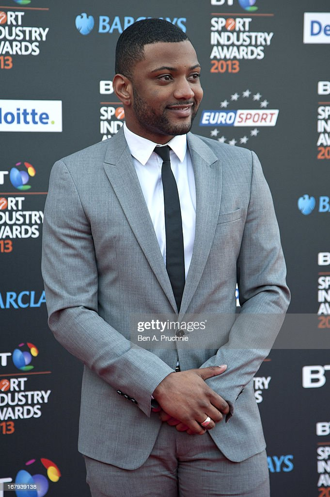 JB Gill attends the BT Sports Industry awards at Battersea Evolution on May 2, 2013 in London, England.