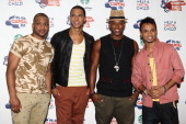 JB Gill Marvin Humes Oritse Williams and Aston Merrygold of JLS attend the Capital FM Summer Ball at Wembley Stadium on June 12 2011 in London England