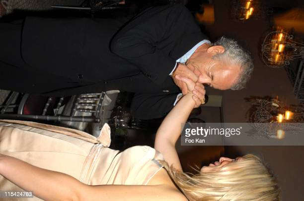 Gilles Bensimon and A Guest during Paris Fashion Week Spring/Summer 2007 Francois Henri Pinault PPR Diner Party at Musee Arts Decoratifs in Paris...