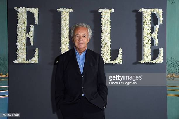 Gilles Bensimon attends a cocktail party hosted by the US Ambassador to France and Monaco to celebrate ELLE US's 30th Anniversary ELLE France's 70th...