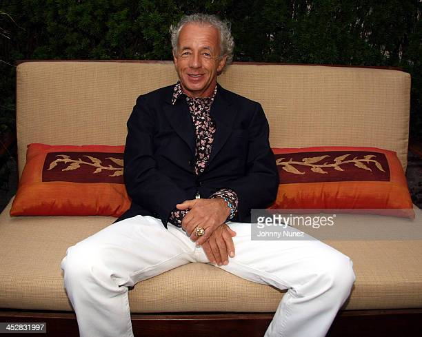 Gilles Bensimon during Elle Magazine Editors Party September 6 2006 at 60 Thompson Hotel in New York City New York United States