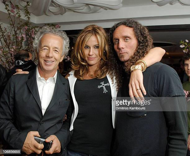Gilles Bensimon Kelly Bensimon and Richard Stark during Chrome Hearts Party for Elle Accessories Magazine Hosted by Richard Stark and Laurie Lynn...