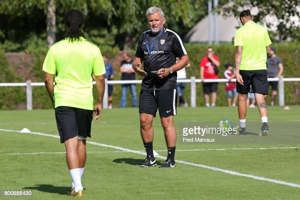 Gilles Bourges coach assistant of Metz during a training session of Metz in Metz France on 24th June 2017