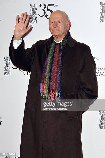 Gilles Jacob attends the 35th Cesar Film Awards at Theatre du Chatelet on February 27 2010 in Paris France