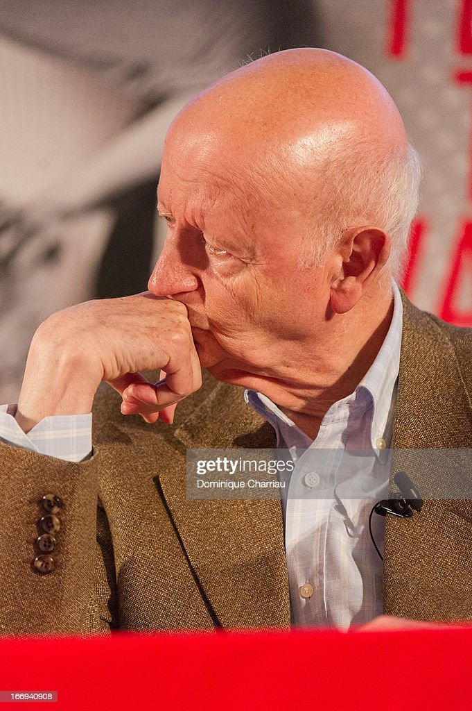 <a gi-track='captionPersonalityLinkClicked' href=/galleries/search?phrase=Gilles+Jacob&family=editorial&specificpeople=212799 ng-click='$event.stopPropagation()'>Gilles Jacob</a> attends the 66th Cannes Film Festival Official Selection Presentation - Press Conference at Cinema UGC Normandie on April 18, 2013 in Paris, France.
