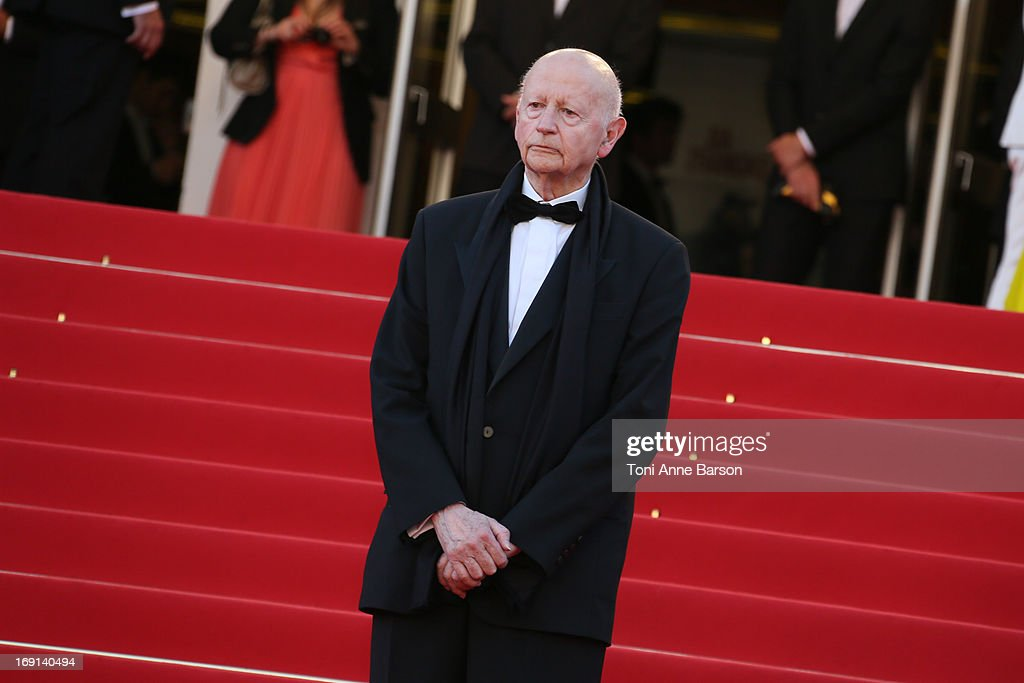 Gilles Jacob attends the premiere of 'Blood Ties' during the 66th Annual Cannes Film Festival at the Palais des Festivals on May 20, 2013 in Cannes, France.
