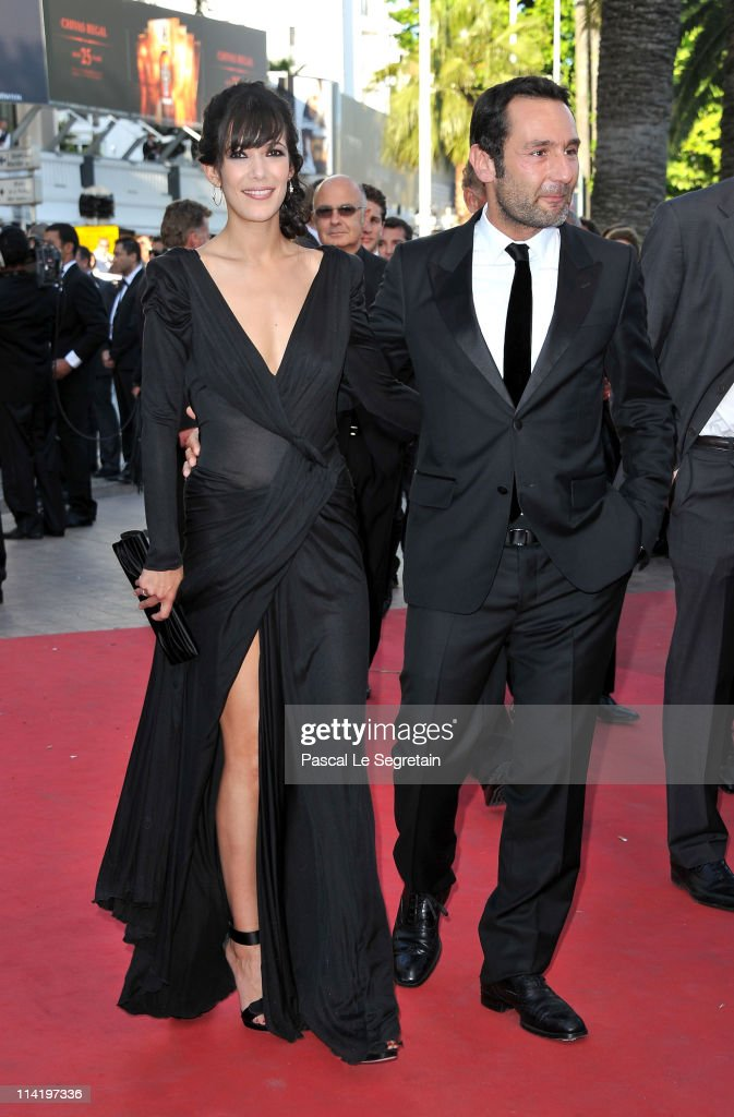 Gilles Lellouche and Melanie Doutey attends 'The Artist' premiere at the Palais des Festivals during the 64th Annual Cannes Film Festival on May 15, 2011 in Cannes, France.