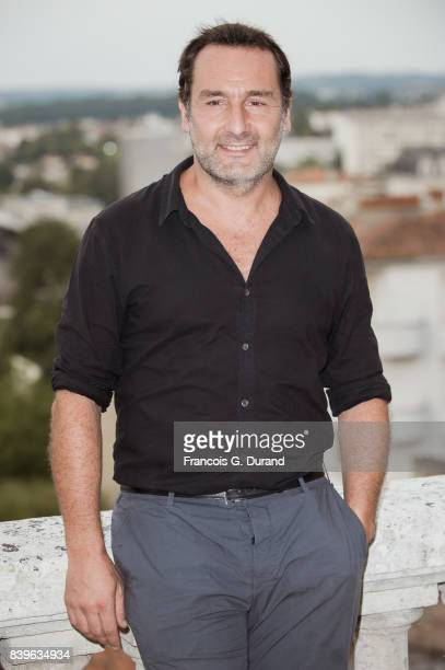 Gilles Lellouche attends the 10th Angouleme FrenchSpeaking Film Festival on August 26 2017 in Angouleme France
