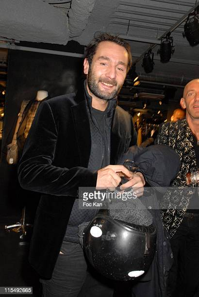 Gilles Lellouche attends the Concept Store 66 Champs Elysees Opening Party on December 11 2007 in Paris France