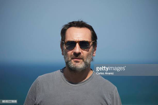 Gilles Lellouche attends the 'Le Sens De La Fete / C'Est La Vie' photocall during the 65th San Sebastian International Film Festival on September 24...